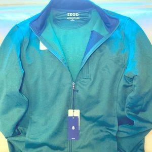 Green full zip IZOD jacket